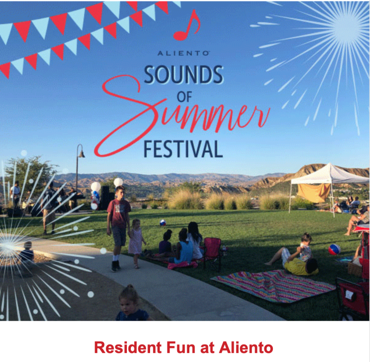 Aliento Email - Sounds of Summer Success